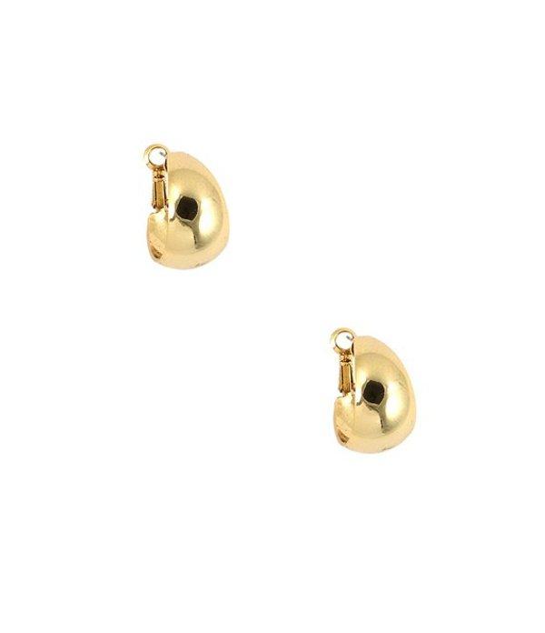 アンクライン レディース ピアス・イヤリング アクセサリー Medium Gold Hoop Earrings Gold