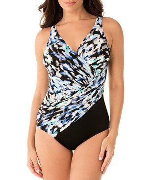 ミラクルスーツ レディース ワンピース トップス Madagascar Oceanus One Piece Shaping Swimsuit Multi