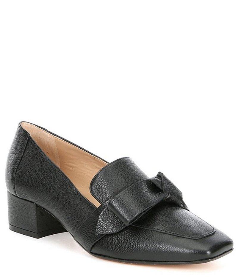 レディース靴, ローファー  Sameera Knotted Block Heel Loafer Black