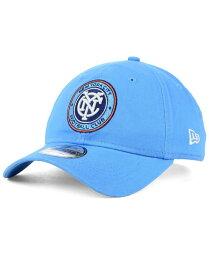 ニューエラ メンズ 帽子 アクセサリー New York City FC Core 9TWENTY Strapback Cap Blue