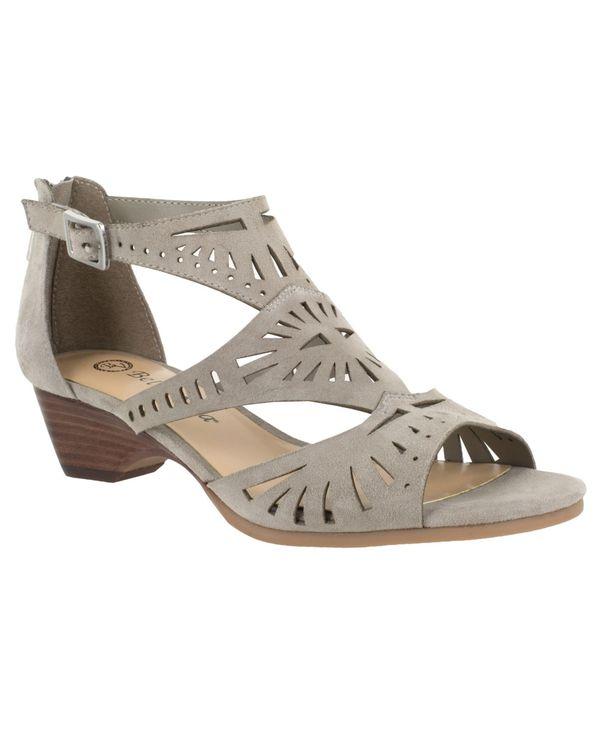 ベラヴィータ レディース サンダル シューズ Penny Cutout Sandals Stone画像
