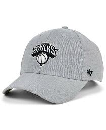 47ブランド レディース 帽子 アクセサリー New York Knicks Mojo MVP Cap Heather Gray