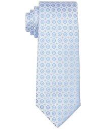 カルバンクライン メンズ ネクタイ アクセサリー Men's Slim Hex Dot Medallion Tie Soft Blue