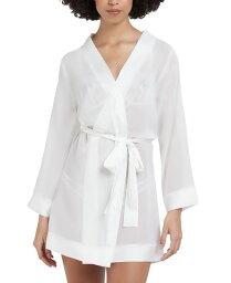ブルーベラ レディース ナイトウェア アンダーウェア Chiffon Kimono Wrap Robe Ivory