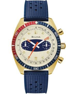 ブロバ メンズ 腕時計 アクセサリー Men's Archive Surfboard Blue Silicone Strap Watch 40.5mm Created for Macy's No Color