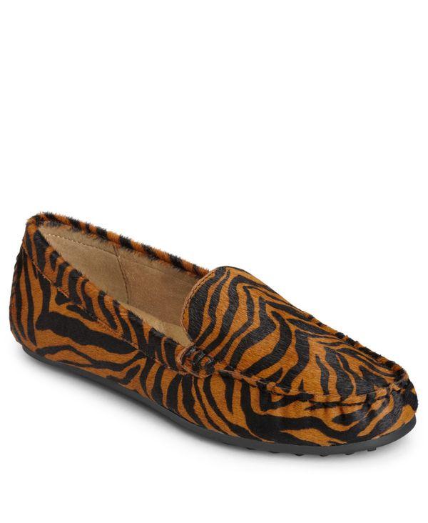 エアロソールズ レディース サンダル シューズ Women's Over Drive Loafers Tiger Tan画像