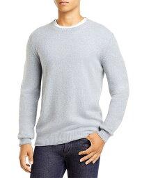 コルネリアーニ メンズ ニット・セーター アウター Cashmere Mlange Crewneck Sweater Blue Gray