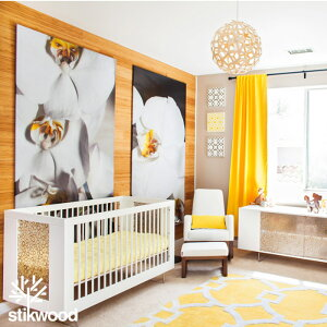 壁に貼れる木壁板Stikwoodスティックウッド【約1.8平米分】貼れる木廃材木目木材板DIY木リフォーム木