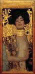 絵画風 壁紙ポスター (はがせるシール式) グスタフ・クリムト ユディト I 1901年 Judith I キャラクロ K-KLT-001S2 (295mm×603mm) 建築用壁紙+耐候性塗料 インテリア
