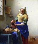 絵画風 壁紙ポスター (はがせるシール式) ヨハネス・フェルメール 牛乳を注ぐ女 1658-60年頃 アムステルダム国立美術館 キャラクロ K-JVM-007S1 (585mm×672mm) 建築用壁紙+耐候性塗料 インテリア
