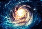 絵画風 壁紙ポスター (はがせるシール式) 銀河 ギャラクシー 渦巻銀河 ブラックホール Milky Way 宇宙 天体 神秘 キャラクロ SPC-020A2 (A2版 594mm×420mm) 建築用壁紙+耐候性塗料 インテリア