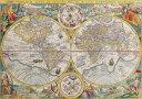 絵画風 壁紙ポスター (はがせるシール式) 世界地図 古代 アンティー...