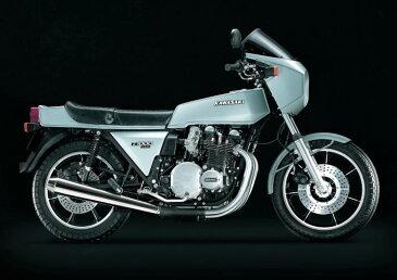 絵画風 壁紙ポスター (はがせるシール式) カワサキ Z1000 Z1-R 1981年 カフェレーサー 名車 バイク キャラクロ KZ1R-006A1 (A1版 830mm×585mm) 建築用壁紙+耐候性塗料 インテリア