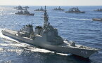 絵画風 壁紙ポスター (はがせるシール式) 護衛艦はたかぜ DDG-171 はたかぜ型護衛艦1番艦 1986年就役 海上自衛隊 JMSDF 海自 キャラクロ JMSD-004W2 (ワイド版 603mm×376mm) 建築用壁紙+耐候性塗料 インテリア