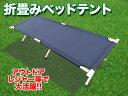 アウトドアベッド 簡易ベッド アルミ 折り畳み ベッド 【送料無料】/###ベッドテントXJC☆###