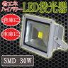 LED投光器 30W/300W相当/防水広角150°AC100V/5Mコード 【送料無料】/###LED投光器30W★###