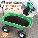 【送料無料】ダンプカート ガーデンカート キャリーカート ワゴン 耐荷重100kg ガーデニング 台車/###ワゴンTC2145###