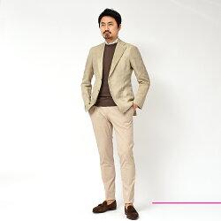 AlfonsoSirica(アルフォンソシリカ)リネンコットンホップサックシングル3Bジャケット