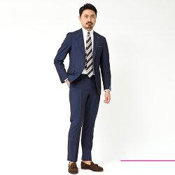 Gabo(ガボ)NEWNAPOLIウールモヘヤトロピカル1プリーツシングル3Bスーツ