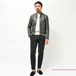 EMMETIエンメティJURIユリラムナッパシングルライダースジャケット