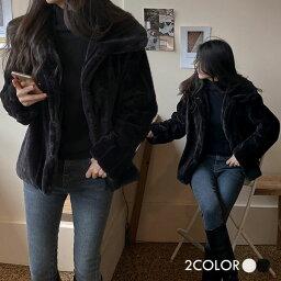 レディース 【jk】【韓国 ファッション アウター ジャケット 襟 ボタン シングルジャケット ショートシャツジャケット カジュアル 秋 冬】アビスファージャケット