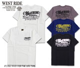 【WEST RIDE/ウエストライド】Tシャツ/PT.TEE.19-01 FOR THE GOOD LIFE★REALDEAL
