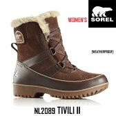 ソレル レディース ウィメンズ ブーツ スウェード ティボリ2 TIVOLI II SOREL カラー:256 NL2089 【2016年秋冬新商品】