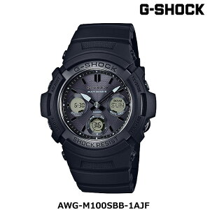 G-SHOCKカシオジーショックAWG-M100SBB-1AJFブラック防水腕時計WATCH2016年新商品