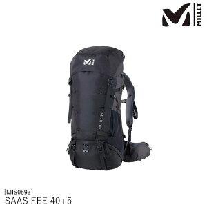 バックパック メンズ ミレー MIS0593 SAAS FEE 40+5 サースフェー 40+5  MILLET アウトドア 登山 トレッキング