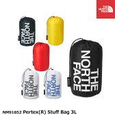 ノースフェイス 旅行用品 小分け袋 パーテックススタッフバッグ3L NM91652 Pertex Stuff Bag THE NORTH FACE 【2016年秋冬新入荷】[ネコポス配送]