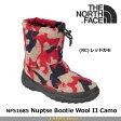ノースフェイス ブーツ ヌプシブーティー ウール2 カモ Nuptse Bootie Wool II Camo NF51685 カラー:RC THE NORTH FACE 【2016年秋冬新商品】