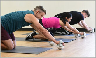 omniball次世代トレーニング器具オムニボールコアトレーニング体幹トレーニング