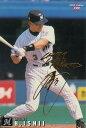 【可】カルビープロ野球チップス2000 199 石井浩郎 サインプリントカード【中古】