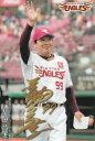 カルビー プロ野球チップス2018 第2弾 M-03 梨田昌孝 (楽天) メンバー表カード