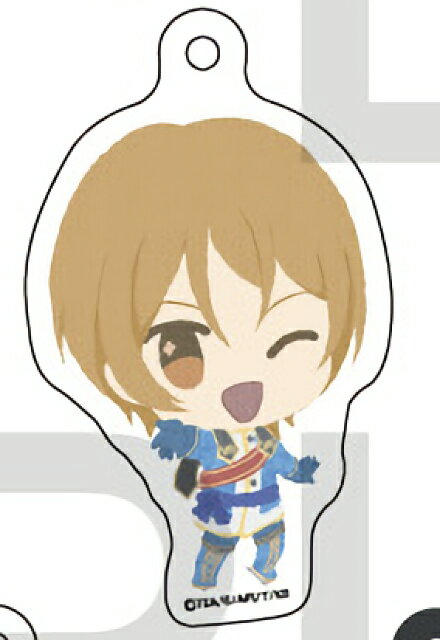【速水ヒロ】KING OF PRISM -Shiny Seven Stars- ふわぽにシリーズ トレーディングアクリルボールチェーン画像