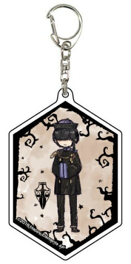 【ウェイン・キング】 アクリルキーホルダー Phantom in the Twilight 01 グラフアートデザイン画像