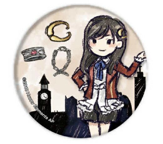 【バイルー・トン】 缶バッジ Phantom in the Twilight 01 グラフアートデザイン画像