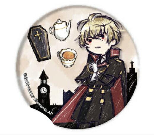 【ヴラッド・ガーファンクル】 缶バッジ Phantom in the Twilight 01 グラフアートデザイン画像