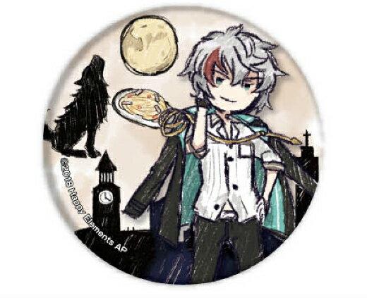 【ルーク・ボーエン】 缶バッジ Phantom in the Twilight 01 グラフアートデザイン画像