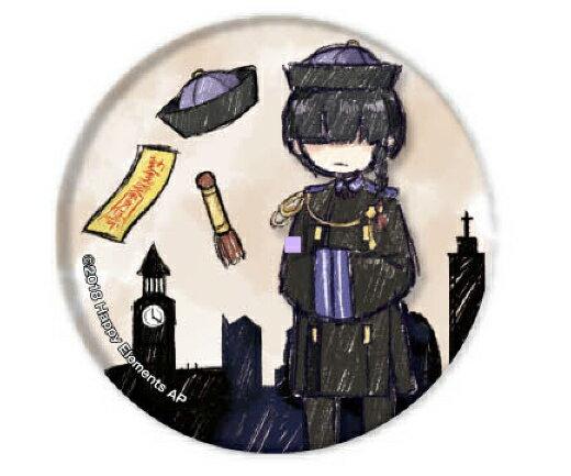 【トウリュウ】 缶バッジ Phantom in the Twilight 01 グラフアートデザイン画像