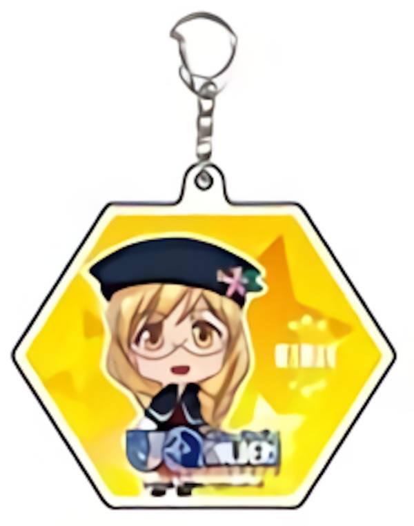 【桜雨キリヱ】 アクリルキーホルダー (6角形) UQ HOLDER! 〜魔法先生ネギま!2〜画像