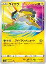 ポケモンカードゲーム S3a 015/076 ライコウ 雷 (A アメイジングレア) 強化拡張パック 伝説の鼓動