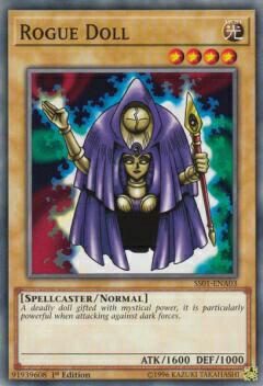 トレーディングカード・テレカ, トレーディングカードゲーム  SS01-ENA03 Rogue Doll ( 1st Edition ) Speed Duel Starter Decks: Destiny Masters