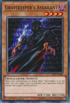 トレーディングカード・テレカ, トレーディングカードゲーム  SS01-ENB06 Gravekeepers Assailant ( 1st Edition ) Speed Duel Starter Decks: Destiny Masters