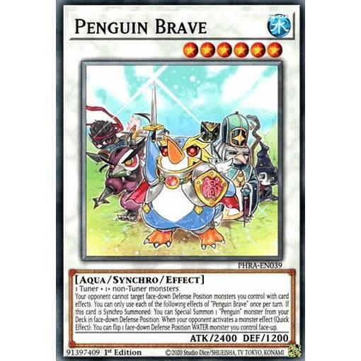 トレーディングカード・テレカ, トレーディングカードゲーム  PHRA-EN039 Penguin Brave ( 1st Edition ) Phantom Rage