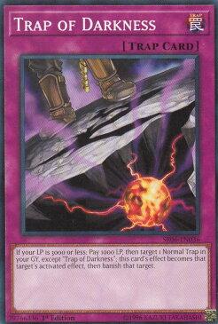 遊戯王 SR06-EN036 闇よりの罠 Trap of Darkness(英語版 1st Edition ノーマル)【新品】