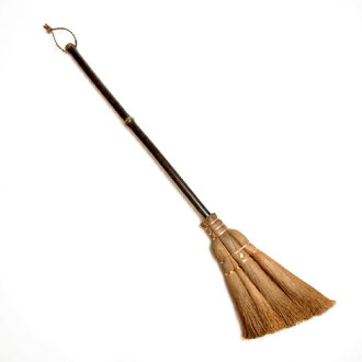"Traditional crafts Yamamoto katsunosuke shopping see \ whip, and clean up! Interior Broom of quality craftsmanship! ""Palm (Palm) broom / 4 jade 手箒 (dust brooms and Palm / fashion design / long-handled broom clean equipment dust remove small decoys / gadg"