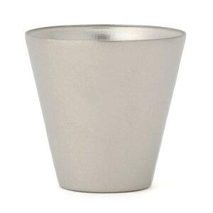 [送料無料][SUS GALLERY/サスギャラリー 新潟県]TITANESS(タイタネス)真空チタンタンブラー300cc-ロックカップ-シルバー(真空タンブラー/真空断熱タンブラー/真空チタンカップ/SUSギャラリー/二重グラス/ロックグラス)