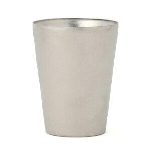 [送料無料][SUS GALLERY/サスギャラリー 新潟県]TITANESS(タイタネス)/真空チタンタンブラー300cc-トールカップ-シルバー(真空タンブラー/真空断熱タンブラー/真空チタンカップ/ビール/コーヒー/二重グラス/マグ)