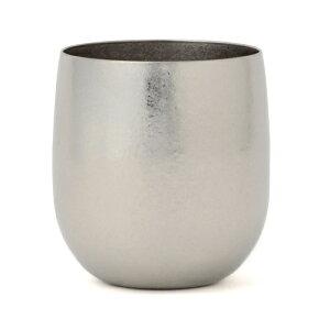 [送料無料][SUS GALLERY/サスギャラリー 新潟県]TITANESS(タイタネス)真空チタンタンブラー280cc-ロックカップ-シルバー(真空タンブラー/真空断熱タンブラー/真空チタンカップ/ビール/二重グラス/ロックグラス)
